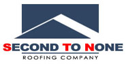 Second To None Roofing Company Logo